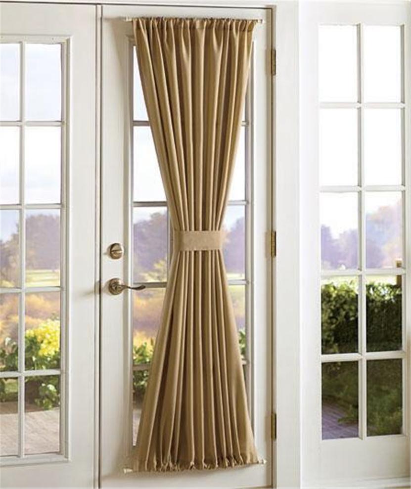 Sidelight door panel window treatments window treatments for Window panel design