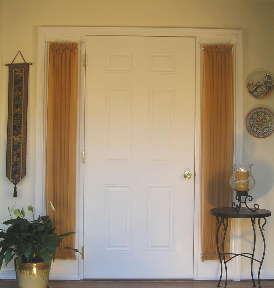 Marvelous Curtain For Side Door Window #5: Design For Door Sidelight Forwardcapital Us. Curtains For Sidelights Best  2017