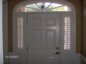Sidelight Window Treatments Doors