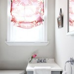 Small Bathroom Window Curtain