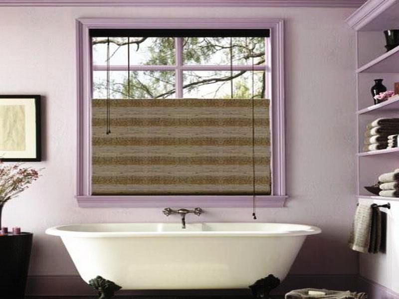 Small bathroom window treatments window treatments design ideas for Window treatments for small bathroom windows