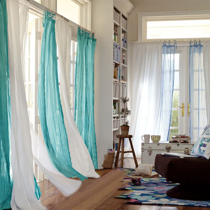 Teal Curtains for Living Room