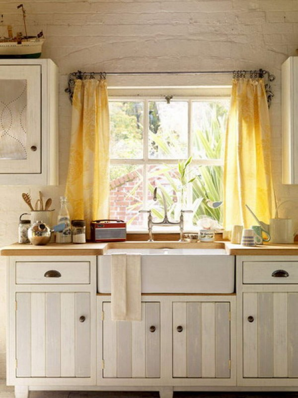Unique Kitchen Window Treatments