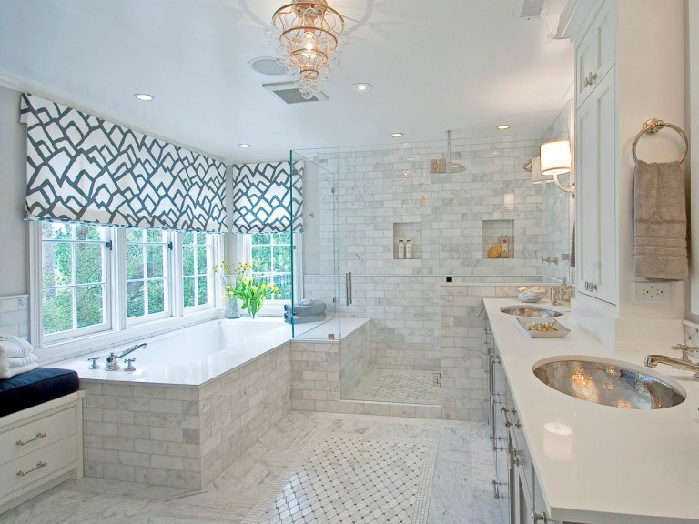 Unique Window Treatments for Bathrooms