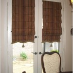 Unique Window Treatments for French Doors