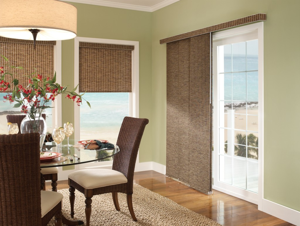 Unique Window Treatments for Sliding Glass Doors
