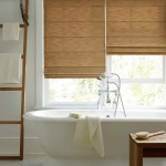 Waterproof Bathroom Window Curtain