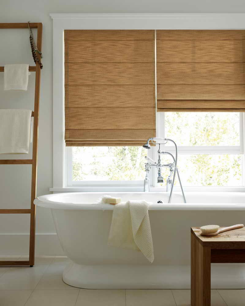 Waterproof Bathroom Window Curtain