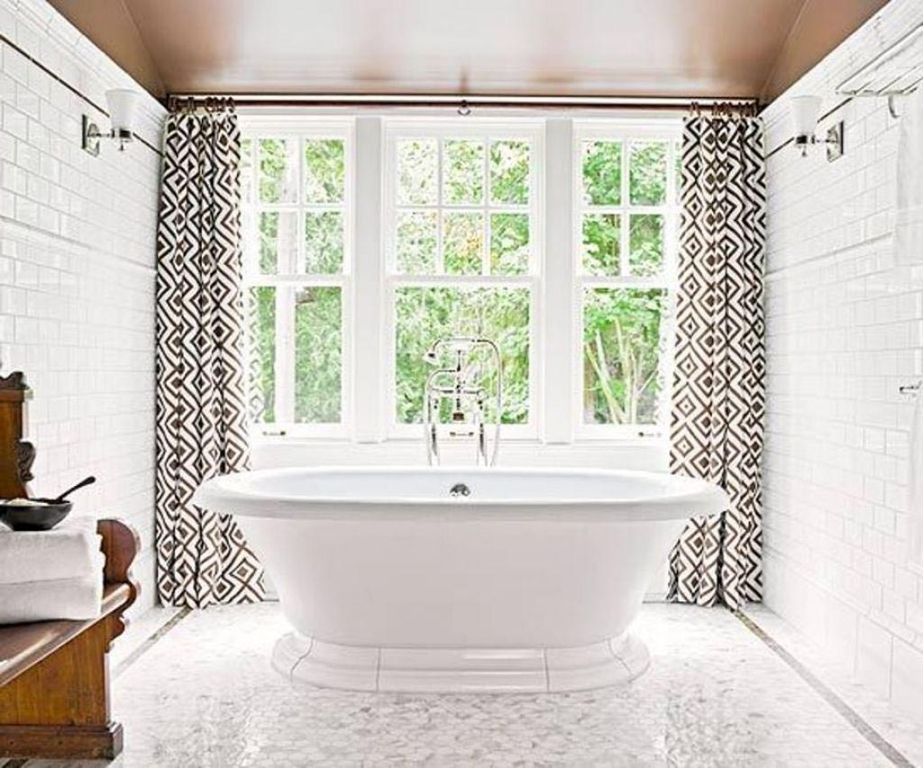 Window Curtain for Bathroom