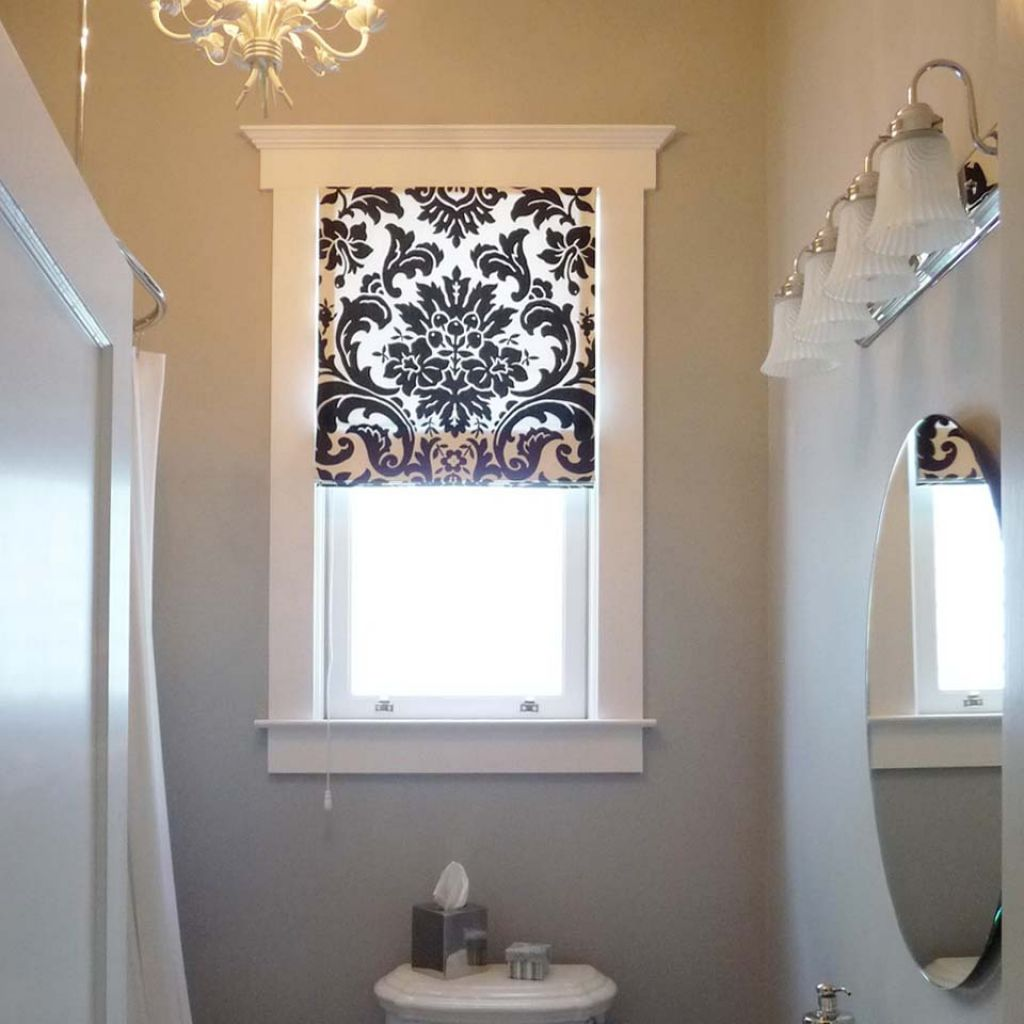 Window treatments for bathroom window treatments design ideas for Bathroom window dressing ideas