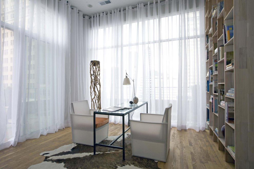 Window Treatments for Contemporary Home