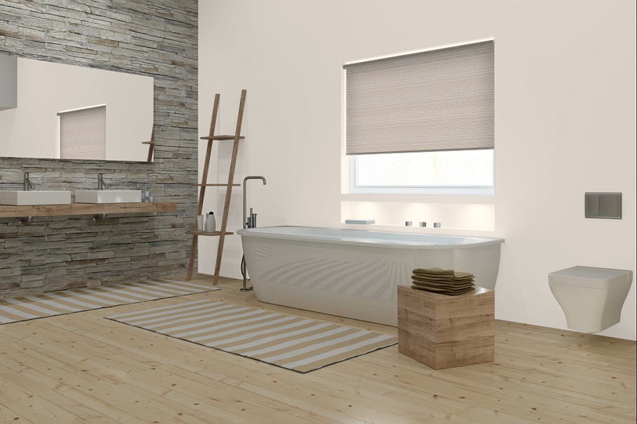 Window treatments for the bathroom window treatments for Blinds bathroom window