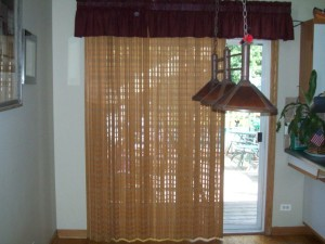 Window Treatments Patio Door