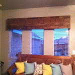 Wood Cornice Window Treatments