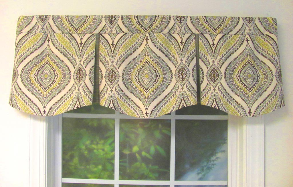 Almost Custom Window Valances Window Treatments Design Ideas