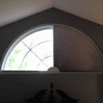 Arch Window Blinds Movable