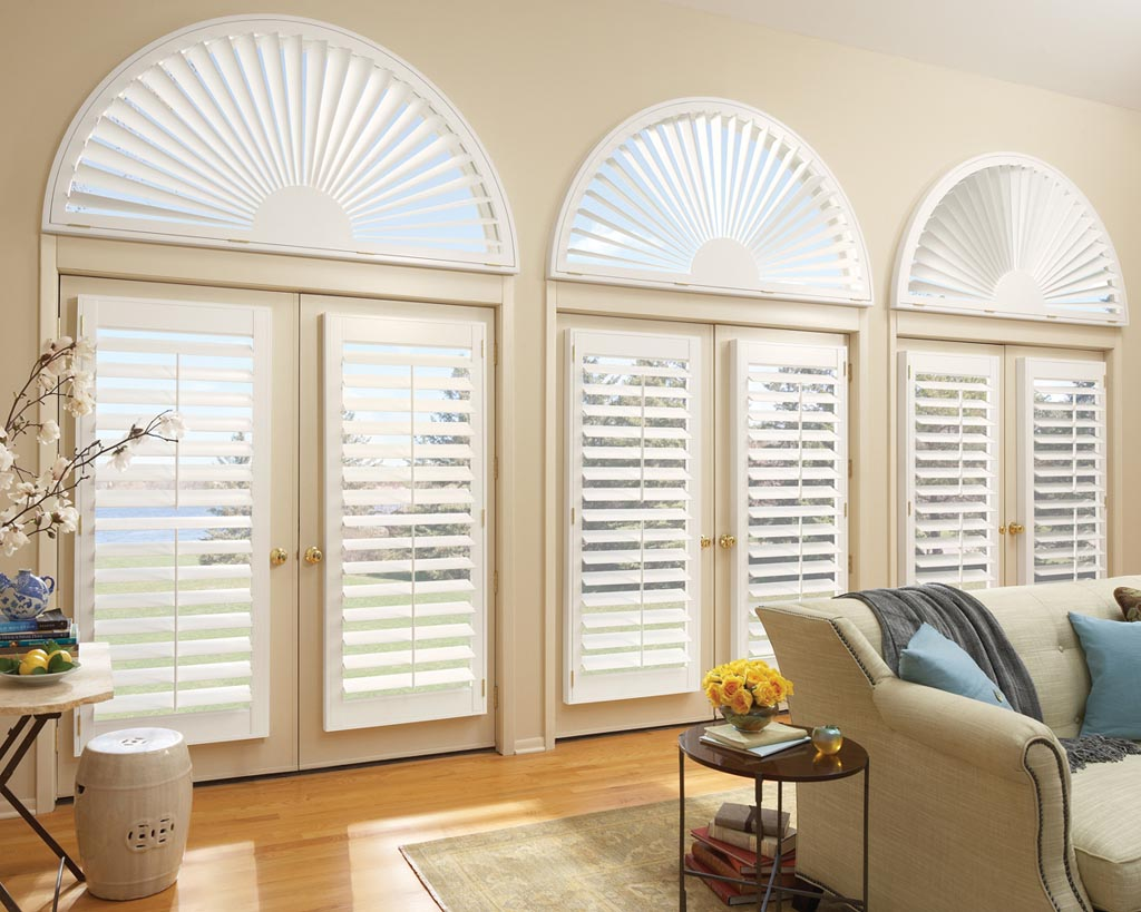 Arch Window Blinds Open Close