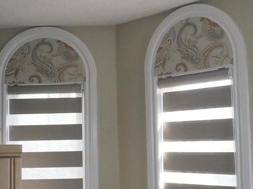 Arch window shades blinds window treatments design ideas for Window design arch