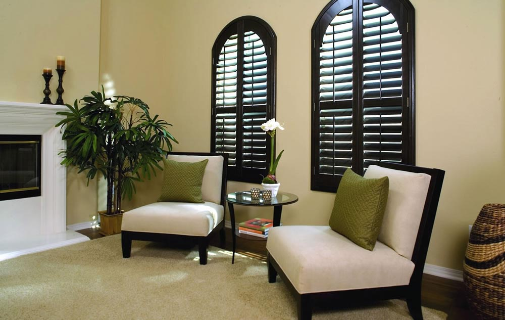 Arch Window Wood Blinds