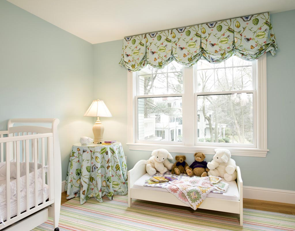 Balloon valances for bedroom window treatments design ideas for Window valances for bedroom