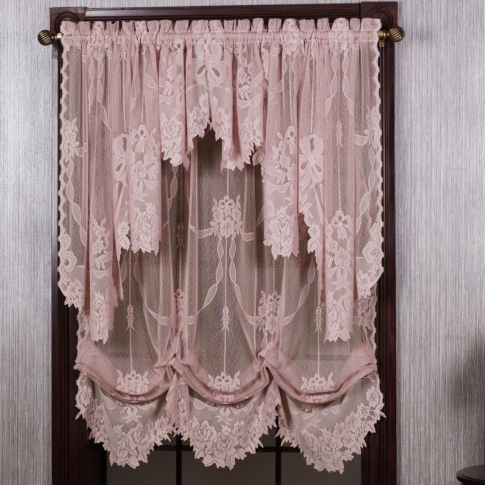 Balloon Valances For Living Room Window Treatments
