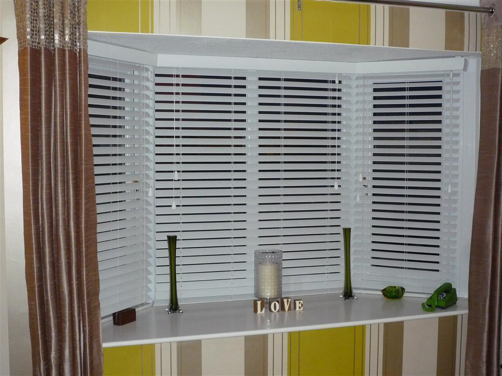 Bay Window Vertical Blinds