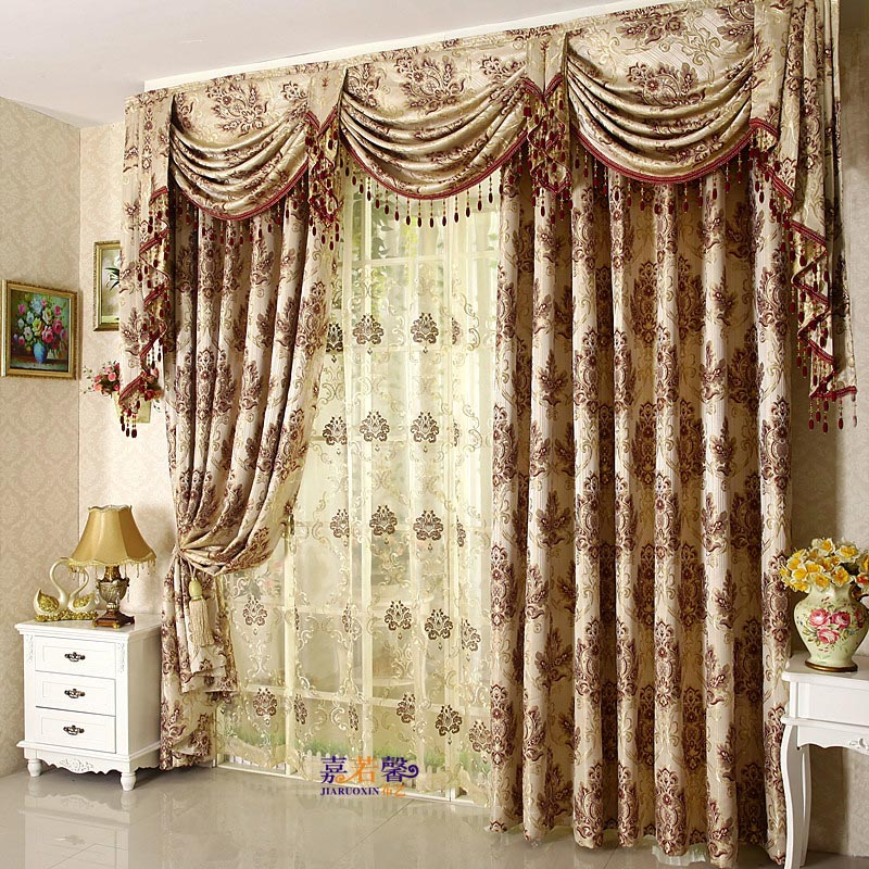 Bedroom Curtains and Valances