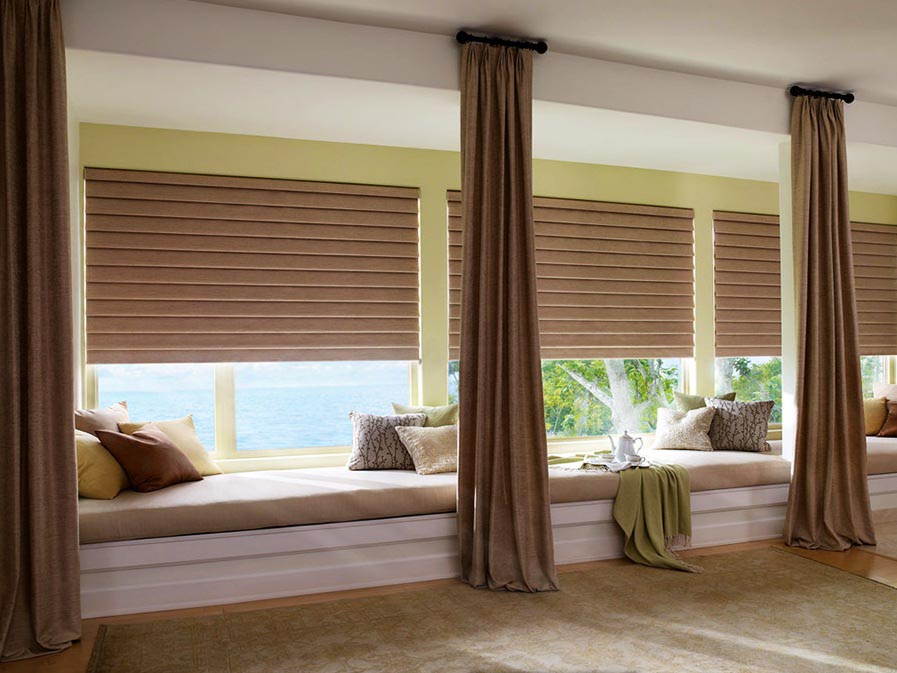 Best blinds for large windows window treatments design ideas for Window coverings for large picture window
