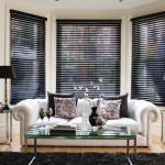 Black Wood Blinds for Windows