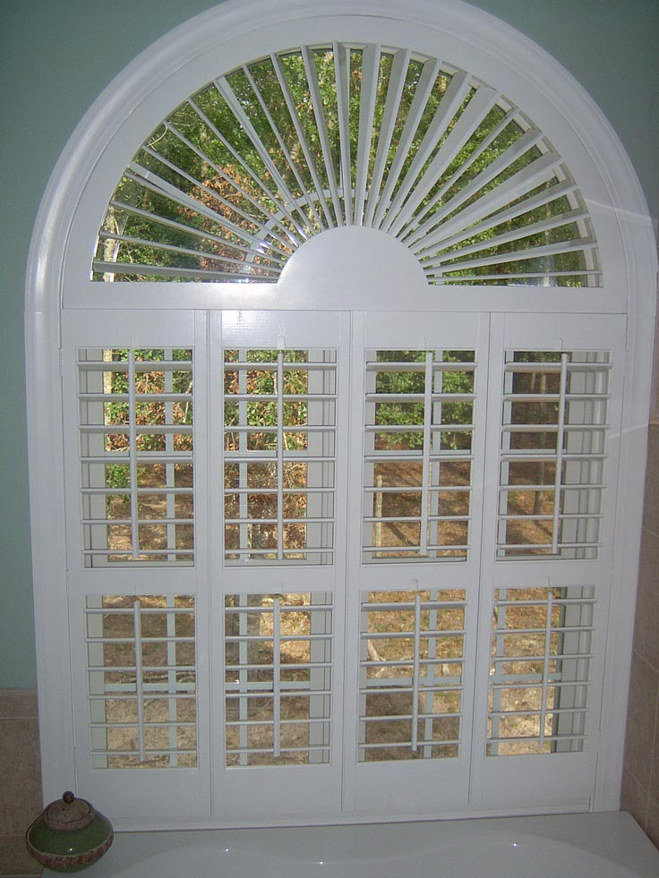 Classic And Original Arch Window Blinds Window