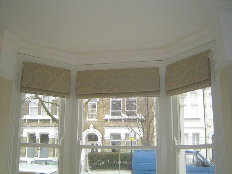 Blinds for a Bay Window