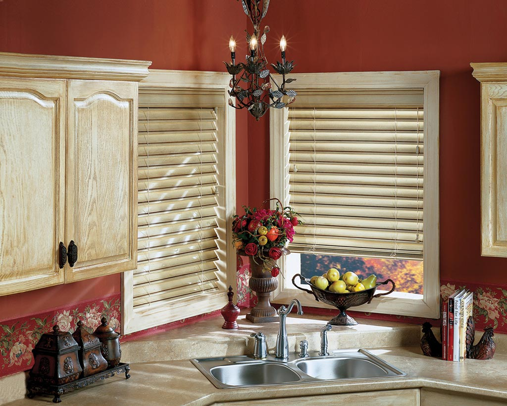 Blinds for a Kitchen Window