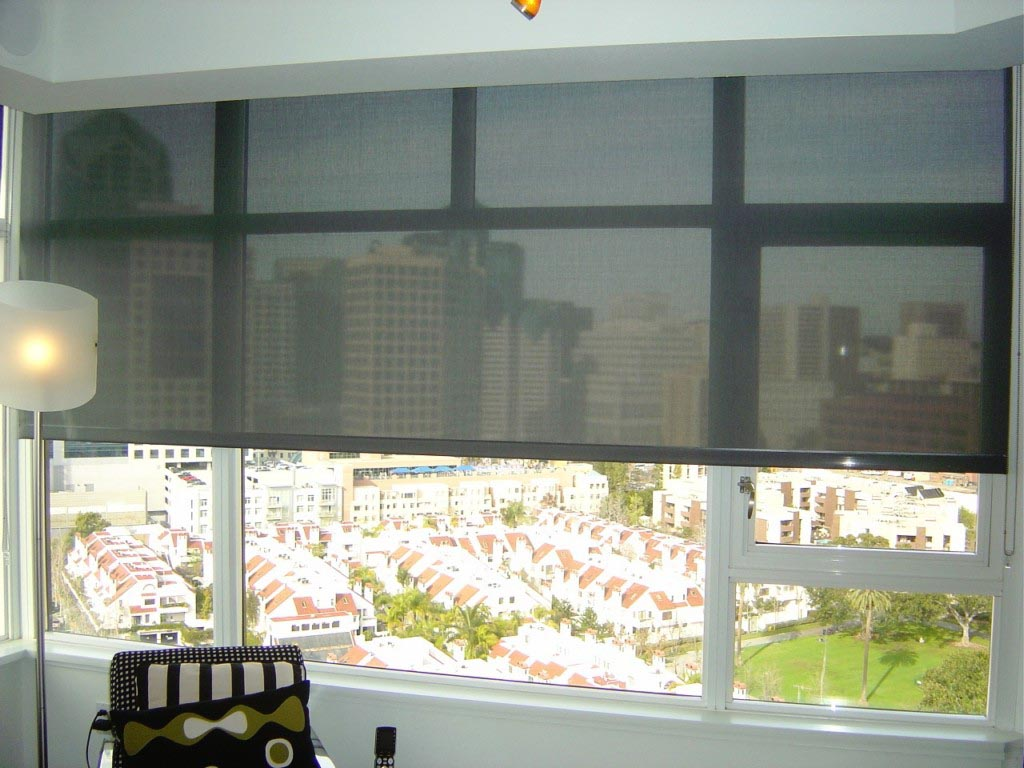 Blinds for a large window window treatments design ideas for Window coverings for large picture window