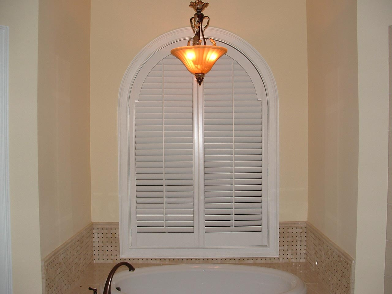 Blinds for Arched Top Windows