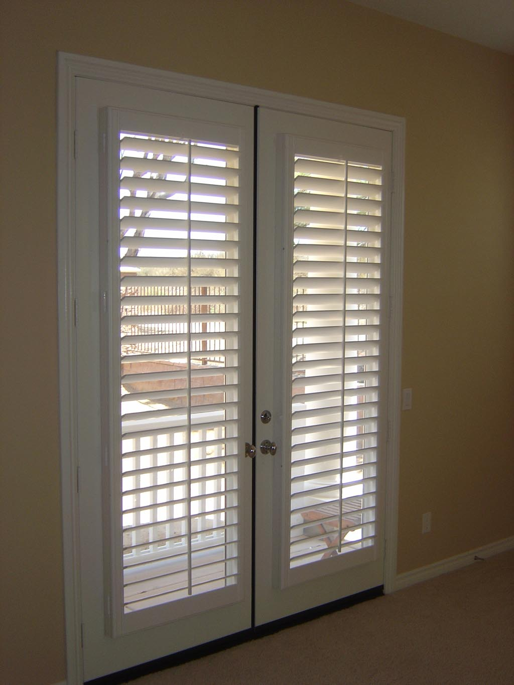 Door window blinds functionality window treatments for What room has no doors or windows