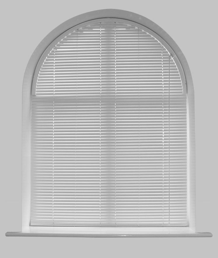 Blinds for Eyebrow Arch Windows