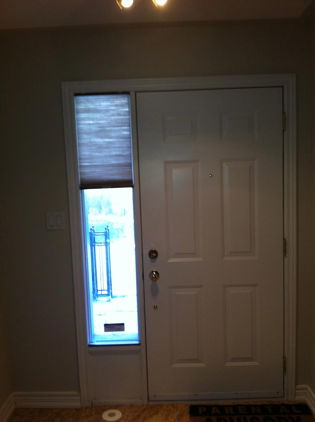 Blinds for Front Door Window