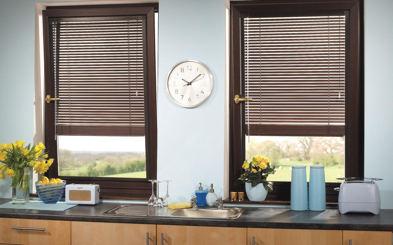 Blinds for Kitchen Window