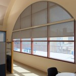 Blinds for Windows with Arches