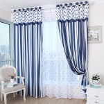 Blue Valances for Bedroom