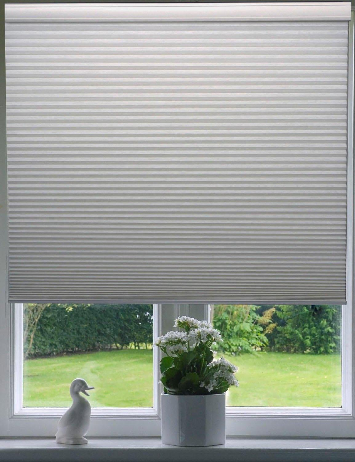 Cordless Honeycomb Window Blinds