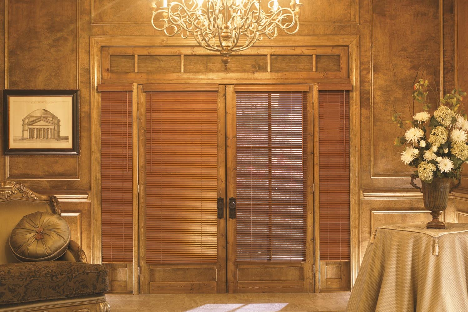 Cordless Wooden Window Blinds