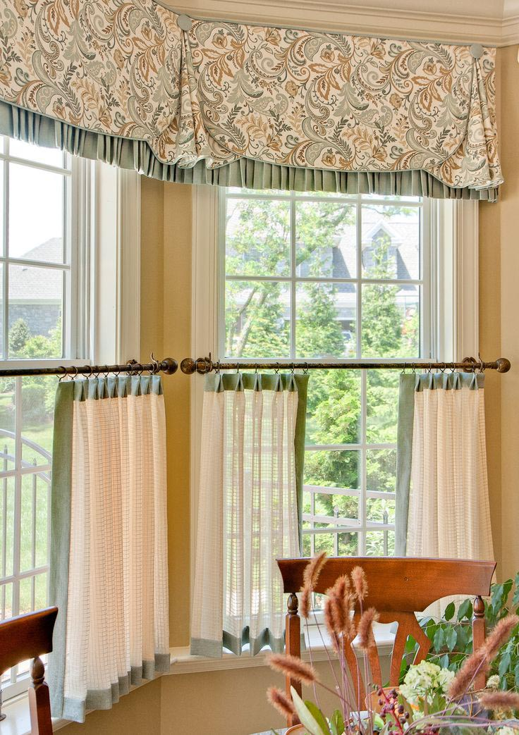 Country curtains kitchen valances window treatments design ideas - Country kitchen curtain ideas ...