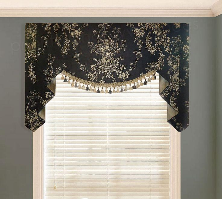 country curtains pineapple valance window treatments