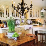 Country French Valances Kitchen