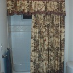 Country Shower Curtains with Valance