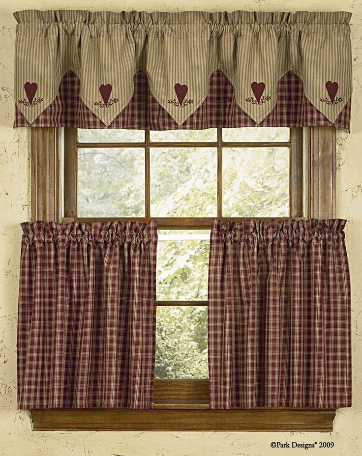 Country Style Curtains and Valances