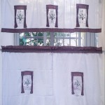 Country Style Kitchen Curtains and Valances
