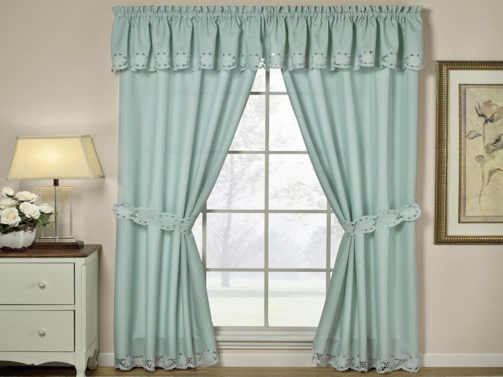 Country Style Valance Curtains Window Treatments Design Ideas