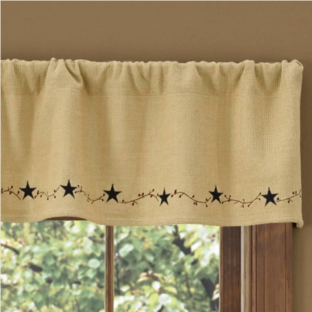 Country Valances And Curtains Window Treatments Design Ideas